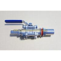"""3pc ball valve 1/2"""""""