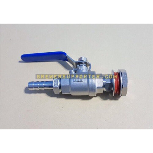 "2pc ball valve 1/2"" set 2"