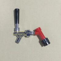 Snap tap pin lock_plastic handle