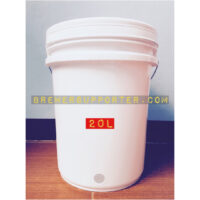20L bucket with a hole for a spigot