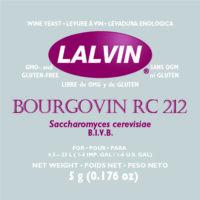 Lalvin Bourgovin RC212