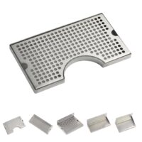 SS Counter-Top Cut Out Drip Tray 30x17.5 cm