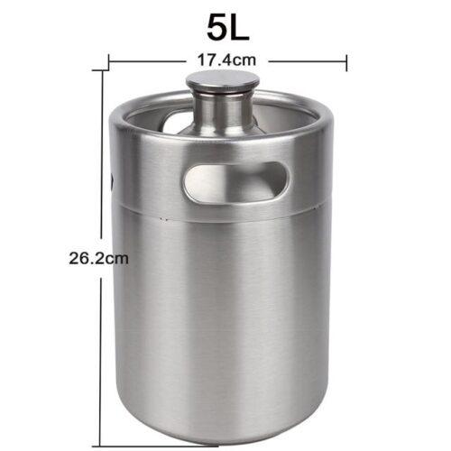 5L growler