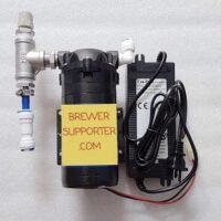 Carbonation pump set