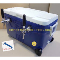 Jockey box 1 Adj. flow control tap - 40L