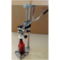 Counter pressure bottle filler with the stand